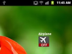 Airplane Widget 1.1 Screenshot