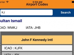 Airport ICAO/IATA Codes 1.0 Screenshot