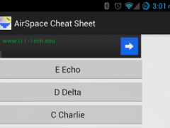 Airspace Cheat Sheet 2.0 Screenshot