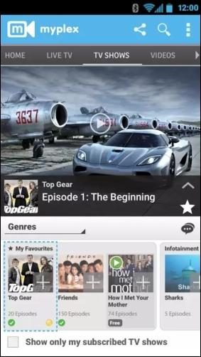 Airtel Live Mobile TV online