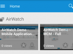 AirWatch Video 1.1.11 Screenshot