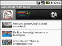 Ajax Football News 6.0 Screenshot