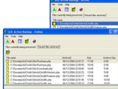 AJC Active Backup 1.6.2 Screenshot