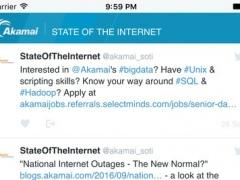 Akamai's State of the Internet 8 Screenshot