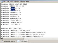 AkelPad 4.9.8 Screenshot