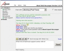 Akeni Help Desk Assistant Enterprise IM 1.13 Screenshot