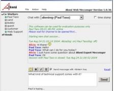 Akeni Live Help 123 - Corporate IM 1.1 Screenshot
