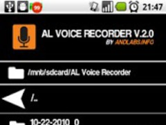 AL Voice Recorder 2.1.7.3 Screenshot