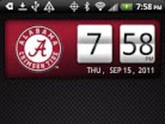 Alabama Crimson Tide Clock 2.0.2 Screenshot