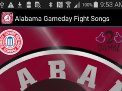 ALABAMA FIGHTSONGS - OFFICIAL 1.0.4 Screenshot
