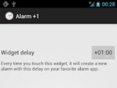 Alarm +1 1.0 Screenshot