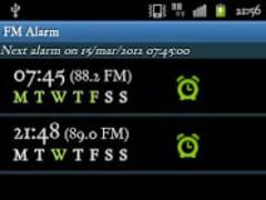 Alarm Clock (FM) Radio Demo 1.4 Screenshot