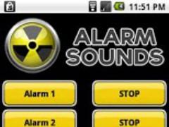 Alarm Sounds 1.0 Screenshot
