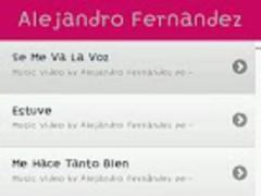 Alejandro Fernandez MusicVideo 1.2 Screenshot