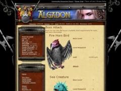 Algadon 1.0 Screenshot
