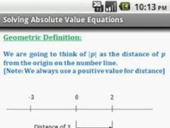 Algebra Quick Reference Pro 2.1 Screenshot
