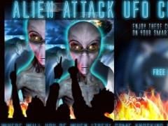 Alien Attack UFO Crash LWP 12 Screenshot