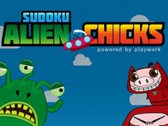 Alien & Chicks - Sudoku Lite 1.0 Screenshot