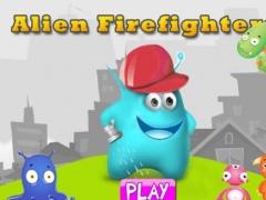 Alien Firefighters : Sprinkle Foam Splashing Stamp Out Fire HD Free 1.1 Screenshot