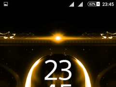 Alien Gold Xperien Theme 2.0.7 Screenshot