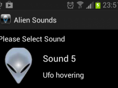 Alien Sounds 1.0 Screenshot