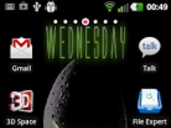 Alien Style Live Wallpaper 1.02 Screenshot