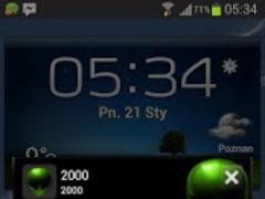 Alien Theme GO SMS 1.1 Screenshot