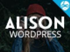 Alison Personal Blog WordPress Theme 8151 1 Screenshot