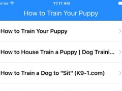 All about How to Train Your Puppy 1.0 Screenshot