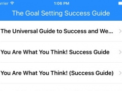 All about The Goal Setting Success Guide 1.0 Screenshot