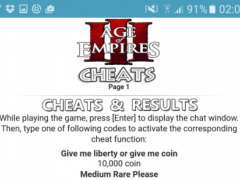 All Age of Empires 3 Cheats 1 1 Free Download