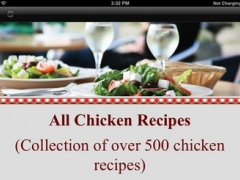 All Chicken Recipes - Quick and Easy Chicken Recipes HD 1.0 Screenshot