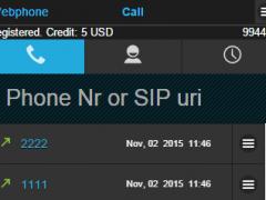 WebPhone 1.3 Screenshot