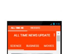 All Time News Update 0.1 Screenshot