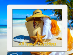All Travel Checklists 1.37 Screenshot
