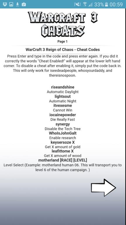 All <b>WarCraft 3 Cheat Codes</b> 1.1 Free Download