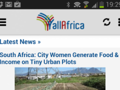 AllAfrica Top News 2.0 Screenshot