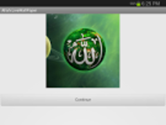 Allah-livewallpaper-on Ramadan 1.0 Screenshot