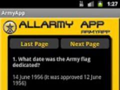 AllArmyApp 1.03 Screenshot
