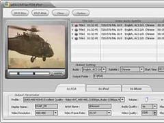 Alldj DVD To PDA PPC Ripper 3.0.5 Screenshot