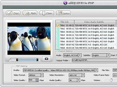 Alldj DVD to PSP Ripper 3.5.22 Screenshot