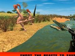 Alligator Attack Simulator 3D 1.0 Screenshot