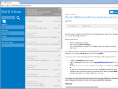 Aloaha MailAndArchive 6.0.132 Screenshot