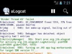 aLogcat (free) - logcat 2.6.1 Screenshot