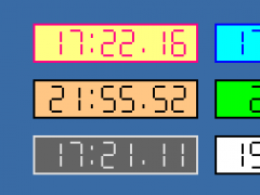 Alpha Clock 1.3.0 Screenshot