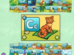 Alphabet Animals for iPad - Talking Alphabet Cards for Kids 1.0.1 Screenshot