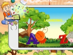 Alphabet learning characters a-z 1.0 Screenshot