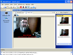 AlphaEZCam 1.02.12 Screenshot