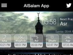 AlSalam - Muslim Prayer times, Quran majeed, Qibla & Azan pro 2.47 Screenshot