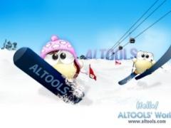 ALTools Ski Resort Desktop Wallpaper 2009 Screenshot